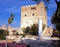 Kolossi castle. Royalty Free Stock Photography