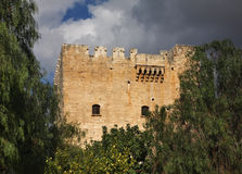 Kolossi kasztel blisko Limassol Cypr Zdjęcia Stock