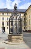 Kolov well in Prague Castle. Kolov well in the second courtyard of Prague Castle Royalty Free Stock Image
