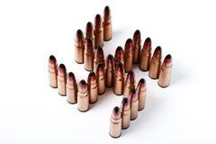 以Kolovrat的形式许多子弹 免版税库存图片