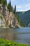 Kolsay Lake in Kazakhstan Stock Images