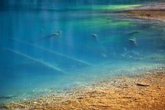 Kolsay Lake in  Kazakhstan Royalty Free Stock Images