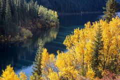Kolsay Lake in Kazakhstan Royalty Free Stock Images