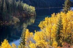 Kolsay See in Kazakhstan lizenzfreie stockbilder