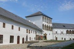 Kolstejnkasteel in Branna, Tsjechische Republiek Stock Foto's