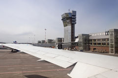 Koltsovo Flughafen in Ekaterinburg Lizenzfreie Stockbilder
