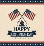 Kolumb dzień Obrazy Stock
