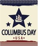 Kolumb dzień Obraz Royalty Free