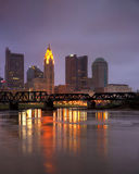 Kolumb, Ohio linia horyzontu Fotografia Stock