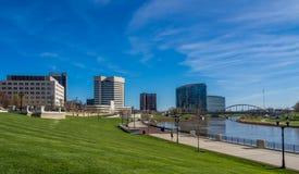Kolumb Ohio linia horyzontu zdjęcie royalty free