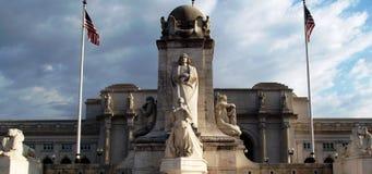 Kolumb okrąg, washington dc obraz royalty free