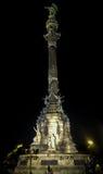 Kolumb zabytek Zdjęcia Royalty Free