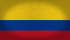 Kolumbia flaga Obraz Stock