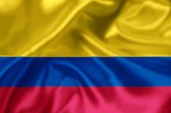 Kolumbia flaga ilustracja ilustracji