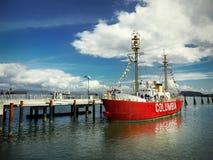 Kolumbia latarniowa Rzeczny Morski muzeum, Astoria Oregon Zdjęcia Royalty Free