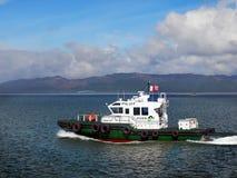 Kolumbia Rzeczna Pilotowa łódź, Astoria Oregon Fotografia Royalty Free