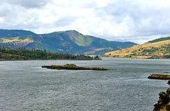 Kolumbia rzeki wąwóz zdjęcie stock