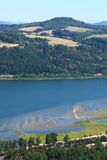 Kolumbia rzeki wąwóz Obrazy Royalty Free