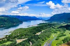 Kolumbia rzeki wąwóz Zdjęcia Stock