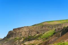 Kolumbia wąwozu wysokości pustyni Rzeczny krajobraz Obraz Stock