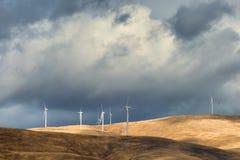 Kolumbia wąwozu Rzeczni silniki wiatrowi Obrazy Stock
