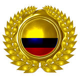 Kolumbianische Flagge Lizenzfreies Stockbild