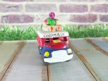 Kolumbianische Geschenkspielwaren Stockbilder
