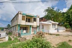 Kolumbianische Häuser stockfoto