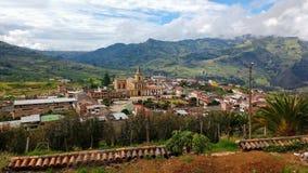 Kolumbianische Landschaft Lizenzfreie Stockbilder