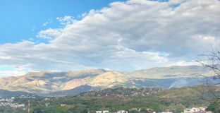 Kolumbianische Landschaft Stockfotografie
