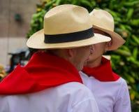 Kolumbianische Leute Lizenzfreies Stockbild