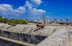 Kolumbianische schöne STADT Cartagena Stockfoto