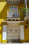 Kolumbianische schöne STADT Cartagena Stockfotografie