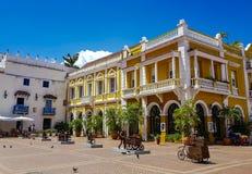 Kolumbianische schöne STADT Cartagena Lizenzfreie Stockfotografie