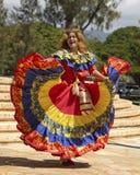 Kolumbianischer Danseuse Lizenzfreie Stockbilder