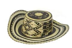 Kolumbianischer Hut lizenzfreie stockbilder