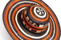 Kolumbianischer Hut lizenzfreies stockbild