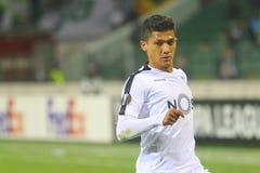 Kolumbianischer Profi-Fußballspieler Fredy Montero lizenzfreie stockbilder