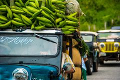 Kolumbianisches Auto Tipyc Lizenzfreie Stockfotos