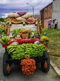 Kolumbianisches Auto Tipycal Stockfoto
