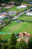 Kolumbianisches Fußballspiel Lizenzfreies Stockbild