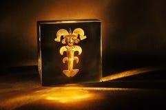 Kolumbianisches Gold lizenzfreie stockbilder