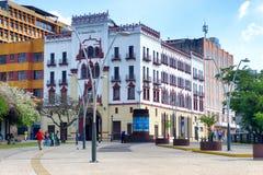 Kolumbianisches Tabak-Gebäude Lizenzfreie Stockbilder