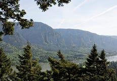 Kolumbien-Fluss-Schlucht, pazifischer Nordwesten, Oregon Lizenzfreies Stockbild