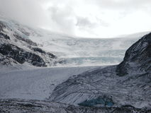 Kolumbien-Gletscher Lizenzfreie Stockfotos
