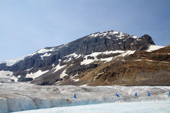 Kolumbien-Gletscher Stockfotografie