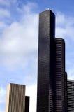 Kolumbien-Kontrollturm, Bank of Amerika lizenzfreies stockbild