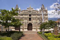 Kolumbien - Santa Fe de Antioquia - Kirche von Santa Barbara Stockfoto