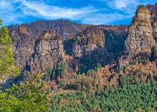 Kolumbien-Schlucht - nach dem Eagle Creek Fire 2 Lizenzfreie Stockfotografie