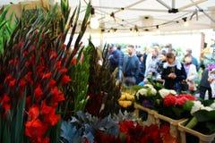 Kolumbien-Straßenblumenmarkt in London lizenzfreie stockbilder